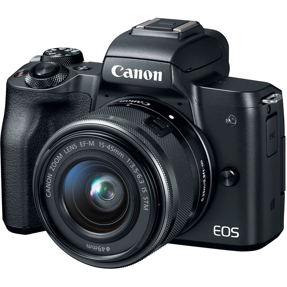 CANON EOS-M50  15-45mm IS STM-黑色 (中文平輸)