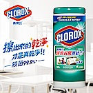 美國CLOROX 高樂氏 居家清潔殺菌濕紙巾 清新香(35片)