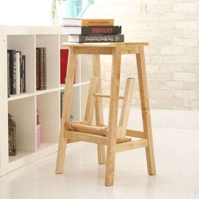 JP Kagu 日式實木折疊樓梯椅吧台椅