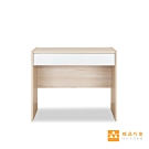 【輕品巧室-綠的傢俱集團】積木系列-森-簡約抽屜書桌90CM(書桌/工作桌)