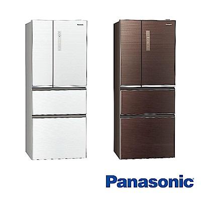 Panasonic國際牌 500L 1級變頻4門電冰箱 NR-D500NHGS 玻璃面板