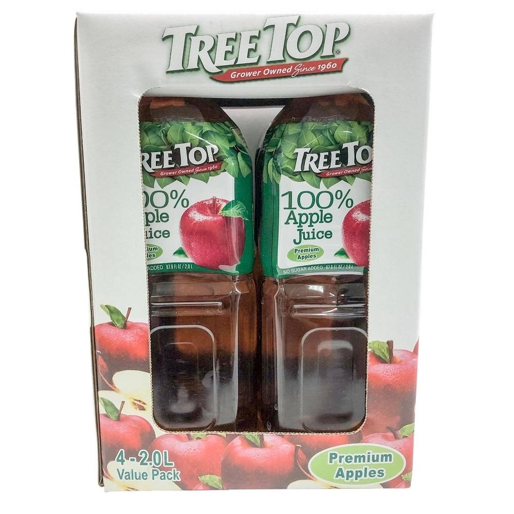 TREE TOP樹頂 100%純蘋果汁(2Lx4入)
