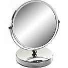 《VERSA》雙面圓形桌鏡(亮銀)