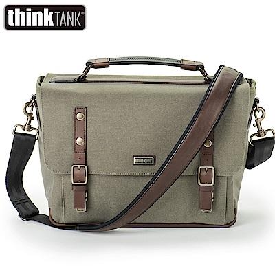 thinkTank 創意坦克 Signature 13 尊爵系列郵差包 相機包-橄欖綠