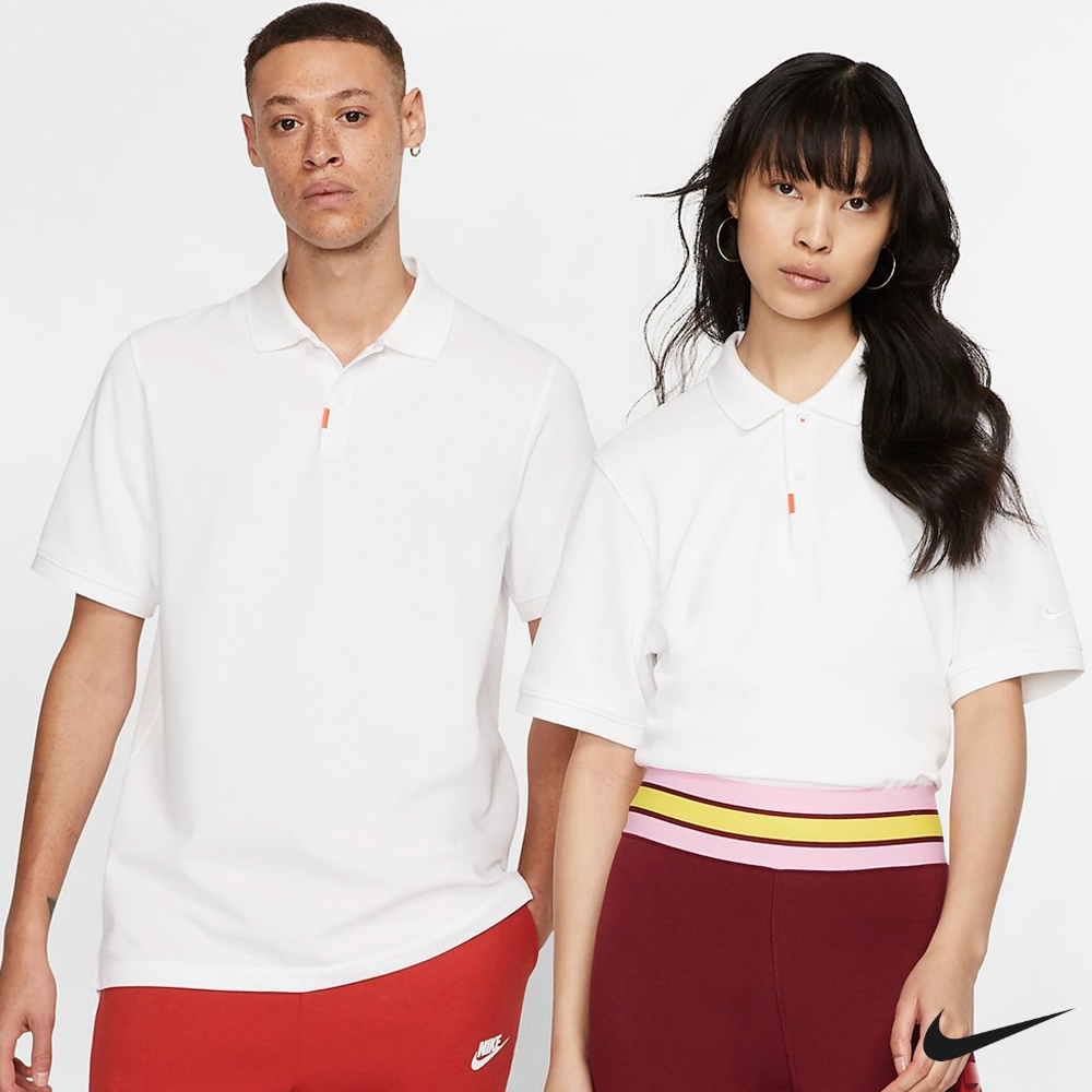 Nike Golf 男子修身翻領高爾夫POLO衫 白 BV0481-100