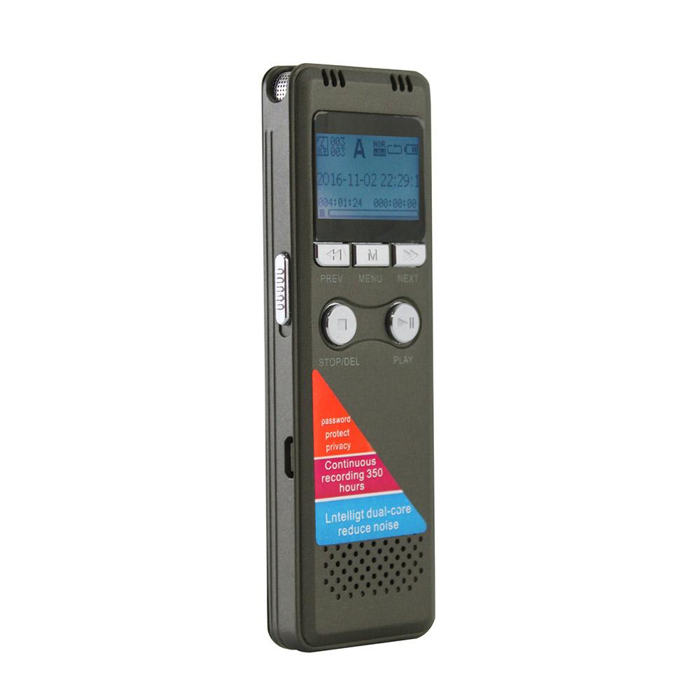 K20 智慧降躁數位錄音筆(內建8GB)