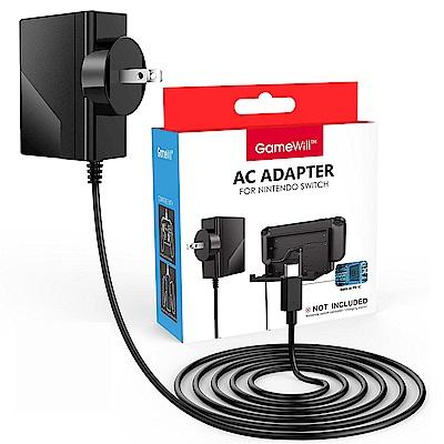 Gamewill任天堂Switch AC 變壓器 供電主機底座 充電周邊設備 BSMI認證