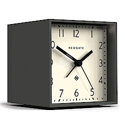 Newgate 英倫風格桌鐘-摩登方塊-優雅白-11cm x 10cm