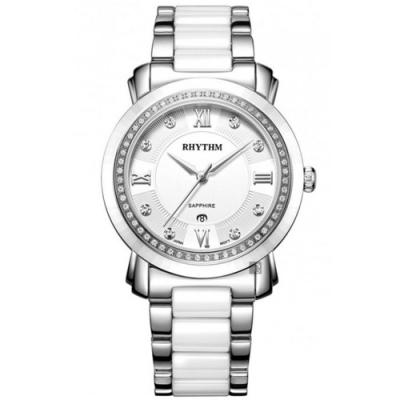RHYTHM日本麗聲 都會陶瓷手錶-37mm F1303T01