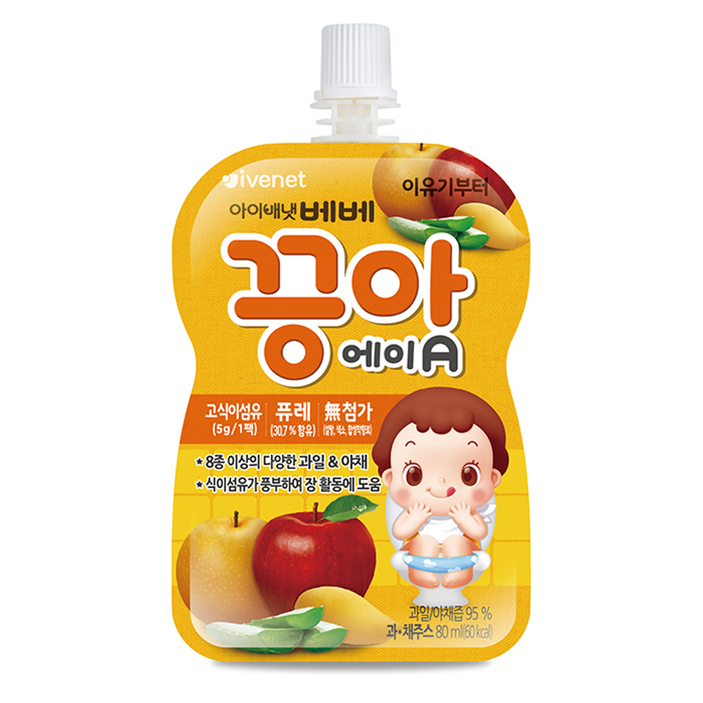 (即期品) 韓國 ivenet 艾唯倪 蔬果泥(柳橙、胡蘿蔔)