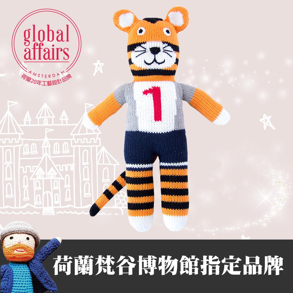 global affairs 童話手工編織安撫玩偶(36cm)-球員虎