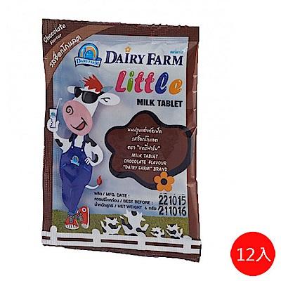 泰好味 泰瑞農場牛奶片-巧克力口味(12包/盒)