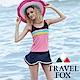 TRAVEL FOX夏之戀大女長版二件式泳衣 product thumbnail 1