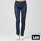 Lee 中腰合身窄管九分牛仔褲/深藍色