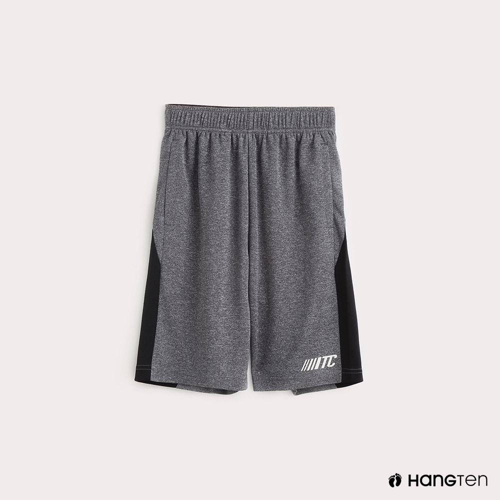Hang Ten-ThermoContro-童裝色塊拼接機能休閒短褲