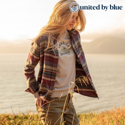 United by Blue 女棉絨長袖襯衫 201-069