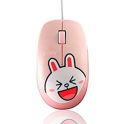 LINE FRIENDS 兔兔有線滑鼠(LN-L02)