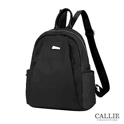 [絕版暢貨] CALLIE|威尼斯系列|輕巧尼龍後背包 Piave 黑