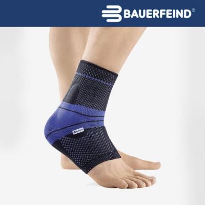 Bauerfeind 德國 頂級專業護具 MalleoTrain 運動護踝 黑藍 左