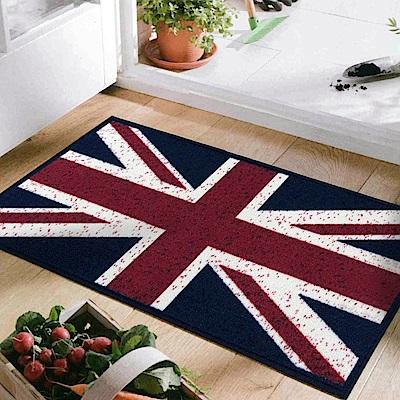 范登伯格 - 奧斯頓 進口踏墊 - 英國國旗 (45 x 65cm)