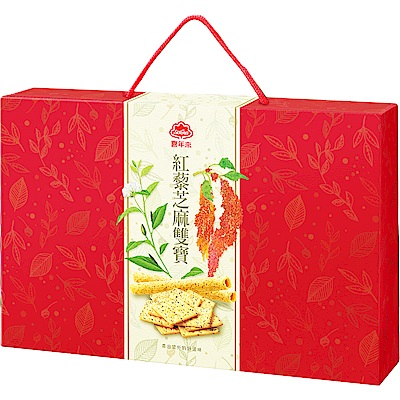 喜年來 紅藜芝麻雙寶禮盒(368g)