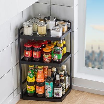 【HappyLife】廚房置物架32長3層 32×22×60CM