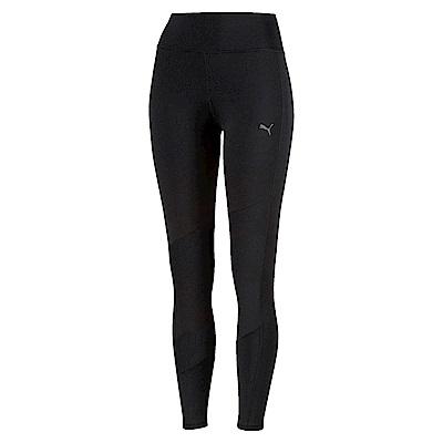 PUMA-女性訓練系列素色9分緊身褲-黑色-歐規