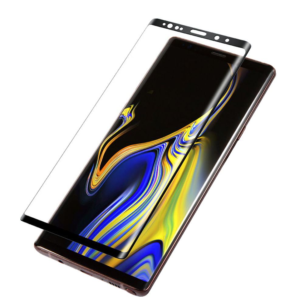 三星Note9 鋼化膜 9H玻璃保護貼 全屏曲面 滿版 防爆防摔 螢屏保護貼 product image 1