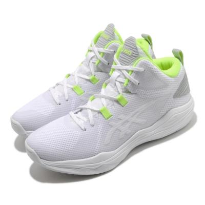 Asics 籃球鞋 Nova Flow 運動 男鞋 亞瑟士 吸震 回彈 超耐磨大底 亞瑟膠 白 黃 1063A028103