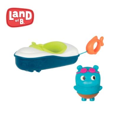 B.Toys 噗拉魚動力小艇_Land of B.系列