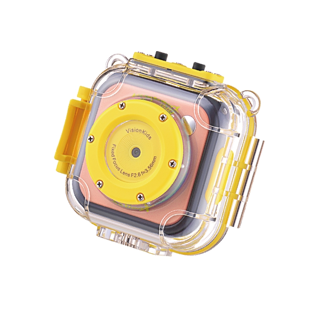 VisionKids - ActionX兒童防水運動攝影機   粉紅色
