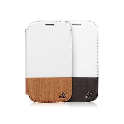 ZENUS SAMSUNG GALAXY S3 純粹木紋 書本式皮套