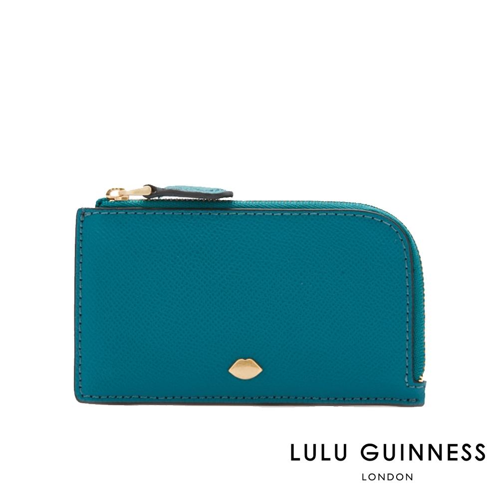LULU GUINNESS LEAH 卡夾/零錢包 (翡翠綠)