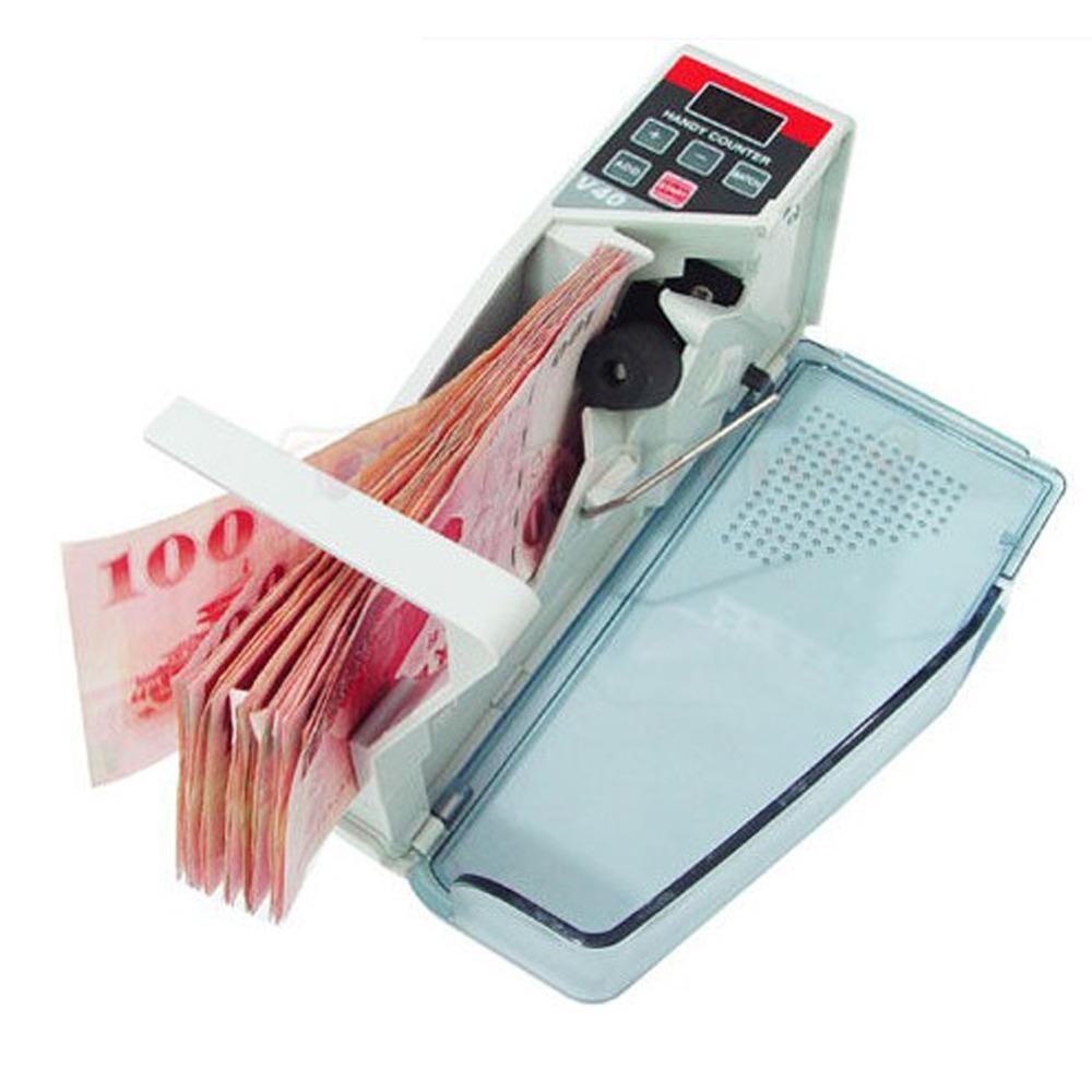 EH002 攜帶式 點鈔機 數鈔機 清點機 V40 可插電 電池 多國紙幣 可攜式 點鈔機