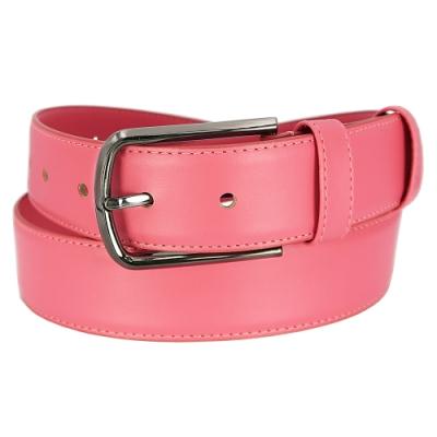 CH-BELT玫紅粉嫩彩女生造型腰帶皮帶(玫紅)