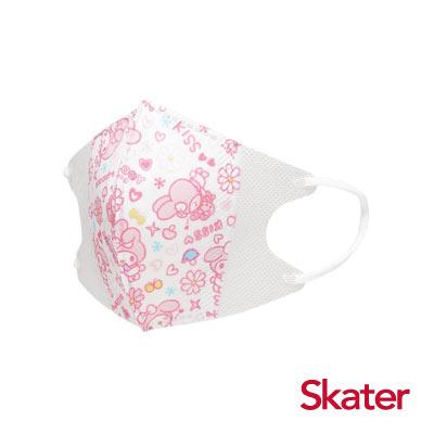 Skater兒童立體口罩-美樂蒂(10入/包)共6包
