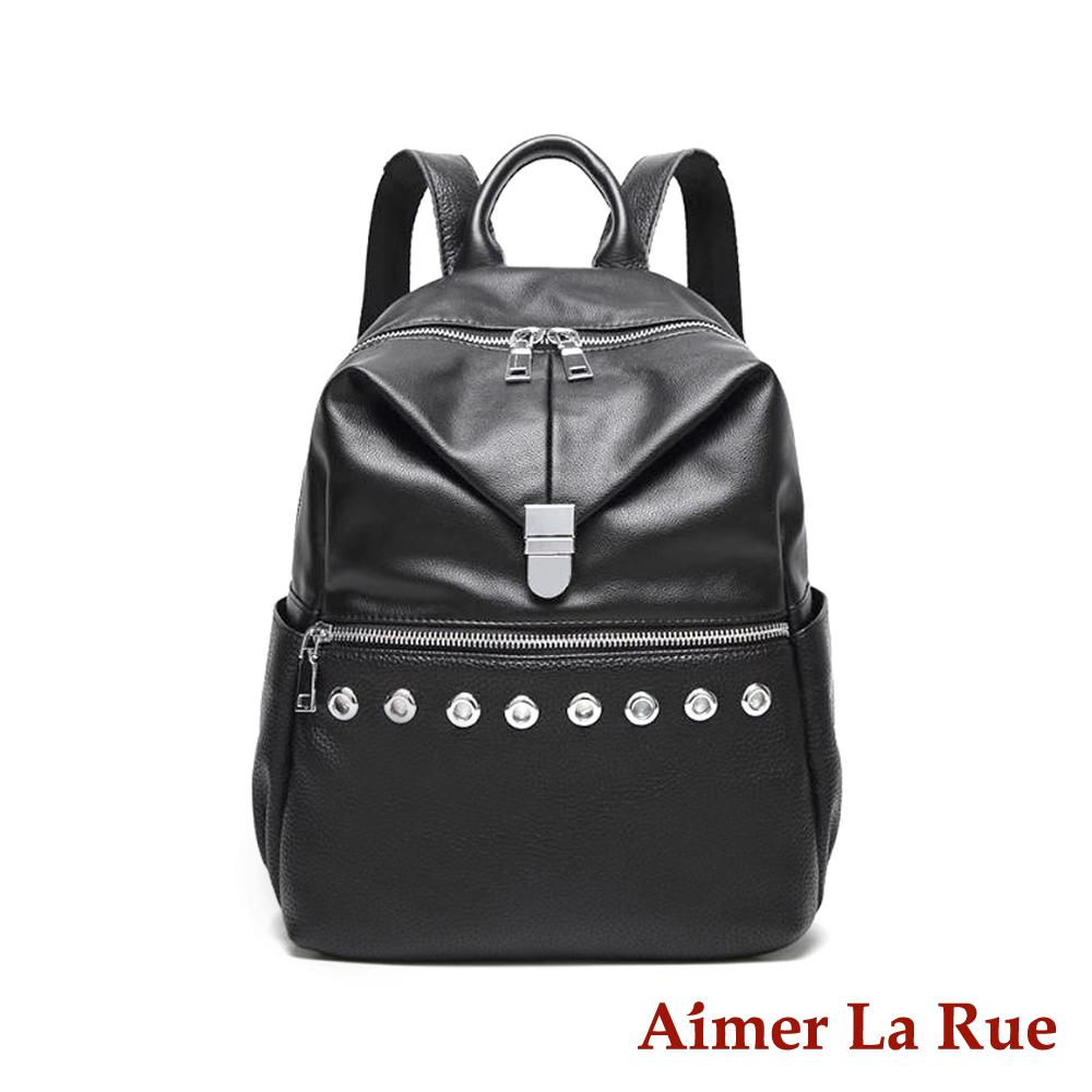 Aimer La Rue 後背包 特南克斯系列(黑色)