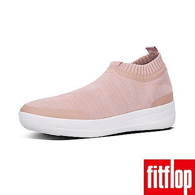 FitFlop UBERKNIT休閒鞋粉白色