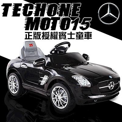 TECHONE MOTO15 仿真賓士跑車 正版BENZ/原廠授權 四通遙控童車/汽車