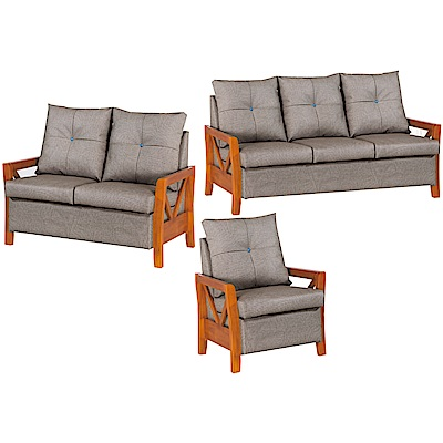 綠活居 莫比卡時尚耐磨貓抓皮革沙發椅組合(1+2+3人座)