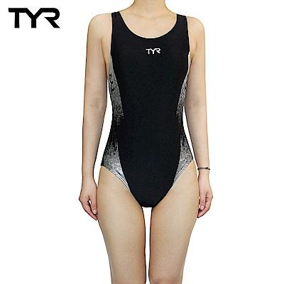 美國TYR Graphis AeroBack 女用連身三角黑色泳裝