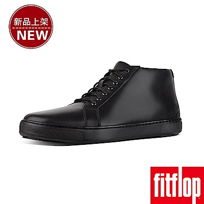 FitFlop ANDOR HIGH-TOP SNEAKERS-黑