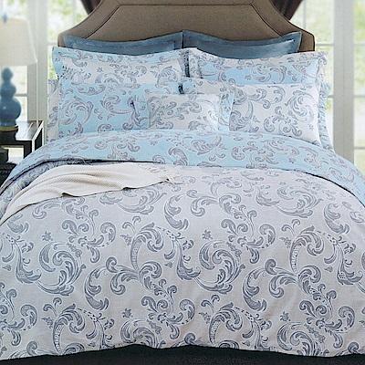 澳洲Simple Living 雙人長纖細棉兩用被床包組-歐風世代(台灣製)