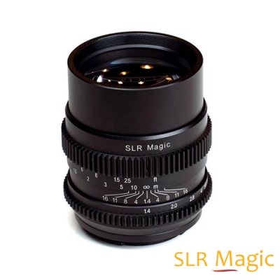 SLR Magic 75mm F1.4 CINE 電影鏡頭│SONY FE 接環