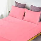 YCB護理級 100%防水防蟎抗菌床包式保潔墊 單人-螢光粉