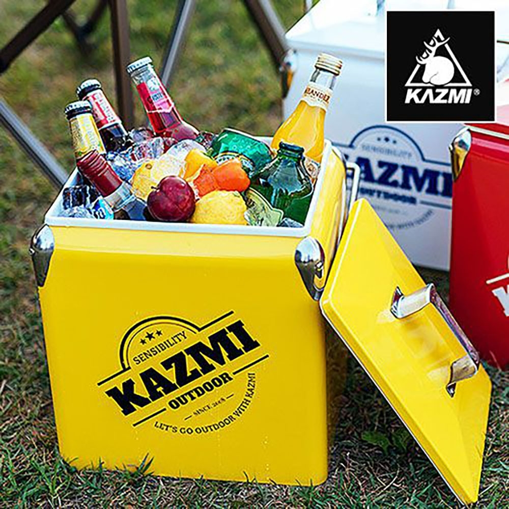 KAZMI KZM 酷樂彩色小冰箱13L(黃色)