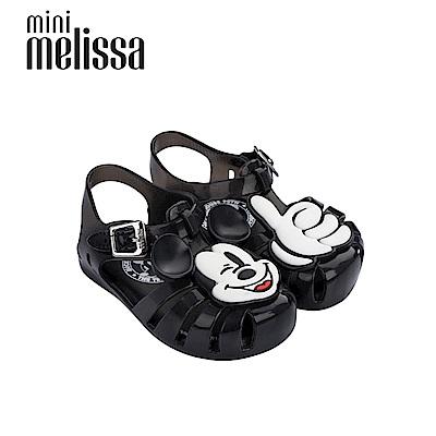 Melissa X Mickey 米奇按個讚寶寶鞋黑色