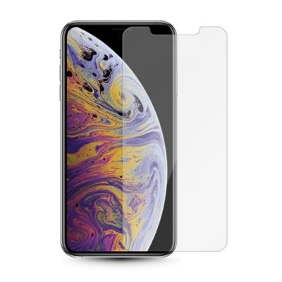 iPhone XS Max 半屏 磨砂 霧面 透明防指紋 鋼化玻璃膜
