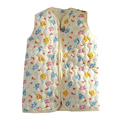 鋪棉背心睡袍 k60777 魔法Baby