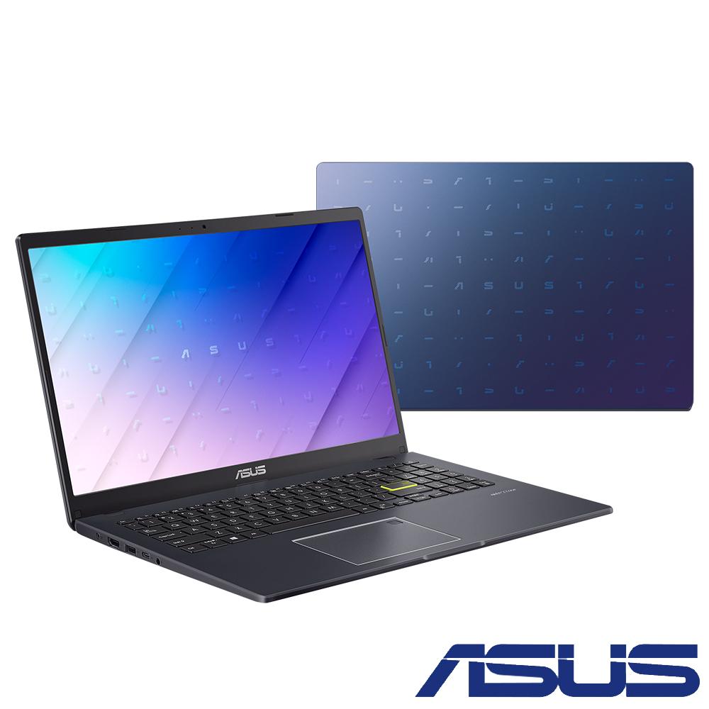 ASUS E510MA 15.6吋筆電 (N4120/4G/128G eMMC/Win10 HOME S模式/Smart NB/夢幻藍)